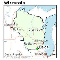 Beloit College location map