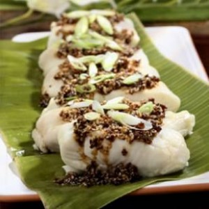 Ginger-Steamed Fish with Hana-Style Sauce