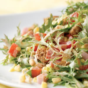 Smoky Ham and Corn Salad